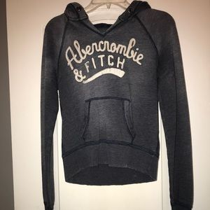 Abercrombie and Fitch hoodie.